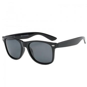 Ochelari de Soare Wayfarer cu lentile polarizate si protectie UV400, Negru