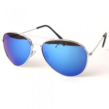 Ochelari de soare pentru barbati,MRT-9GN aviator, albastru verde