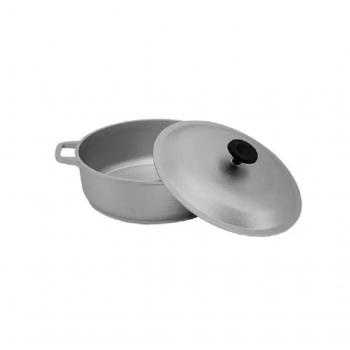 Oala 6,0 L aluminiu ingrosata cu capac
